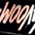 Neon Vavoom Sign upside down